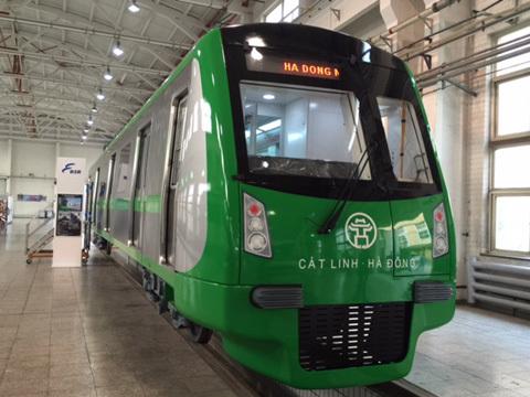 Lộ công nghệ tàu đường sắt trên cao Cát Linh - Hà Đông