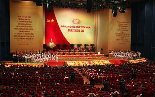 Lê Kiên Thành, Đại hội Đảng 12, văn kiện Đại hội Đảng, XHCN, Đảng viên, BCH TƯ, dân chủ, phê và tự phê