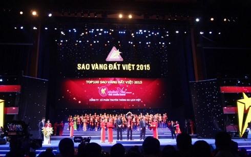 Hơn 1.500 thương hiệu được vinh danh Sao vàng Đất Việt