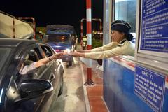 Thu phí lúc 0 giờ trên cao tốc Pháp Vân – Cầu Giẽ