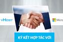 vHost ký hợp tác với Microsoft