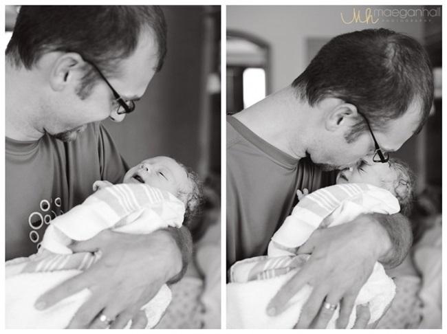 """Những khoảnh khắc 'ấm tim"""" khi bố gặp con lần đầu tiên"""