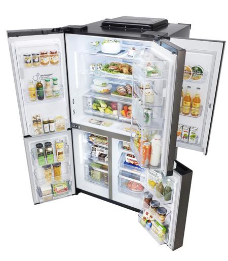 Tủ lạnh 3 tầng lọc giải bài toán nước sạch