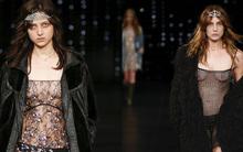 Nhiều người mẫu lộ ngực trần trong thiết kế mỏng tang