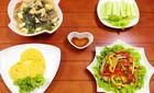 Bữa cơm chiều giản dị mà ngon