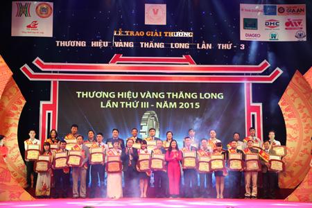 Thực phẩm Đức Việt vào Top 10 Thương hiệu Vàng Thăng Long