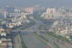 Sương mù do ô nhiễm bao phủ Sài Gòn