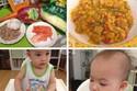 Thực đơn ăn dặm cho bé từ 9-12 tháng lúc nào cũng thèm ăn