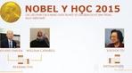 Nobel Y học 2015 quan trọng với nhân loại thế nào?