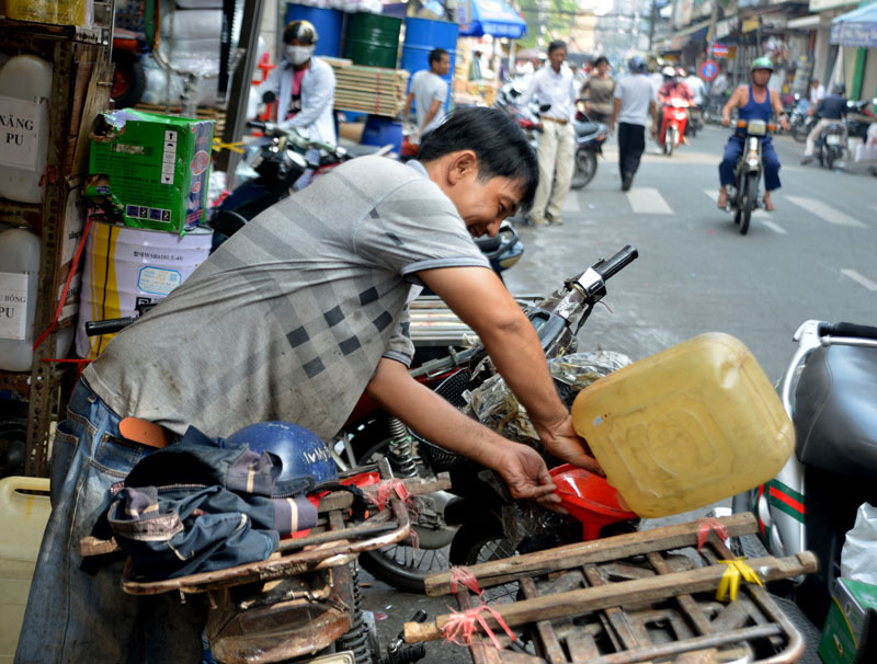 Tập đoàn 'xe xác ướp' dọc ngang Sài thành - 9