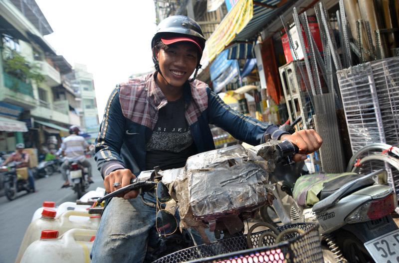 Tập đoàn 'xe xác ướp' dọc ngang Sài thành - 14