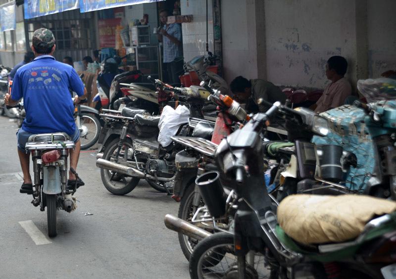 xa cà tàng, xe chở hàng, chợ Lớn, Sài thành