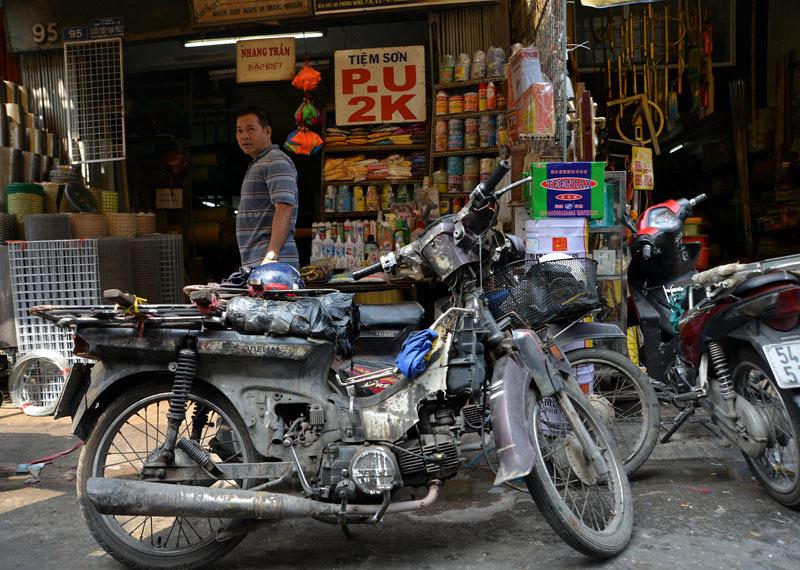 Tập đoàn 'xe xác ướp' dọc ngang Sài thành - 5