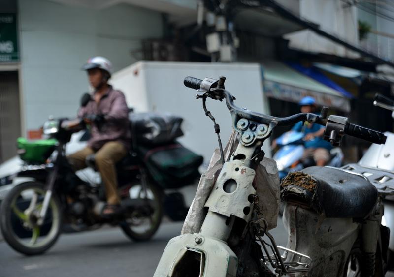 Tập đoàn 'xe xác ướp' dọc ngang Sài thành - 1