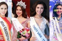 Đội hình thi sắc đẹp quốc tế lý tưởng của Việt Nam năm 2015