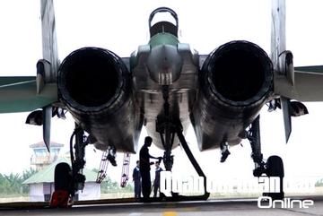Ngắm chiến đấu cơ SU-30MK2 của Không quân VN