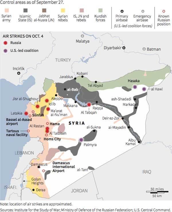 Syria, không kích, IS, Nhà nước Hồi giáo