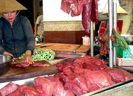 Phân bón 'biến' thịt ôi thành thịt tươi?
