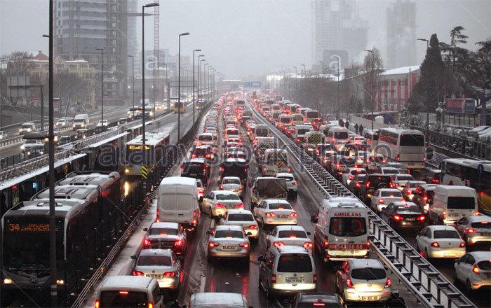 Istanbul, tắc đường, khủng khiếp