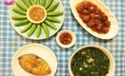 Thực đơn cơm chiều giản dị cho 4 người