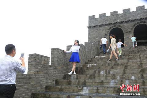 Vạn lý Trường thành, làm giả, Trung Quốc