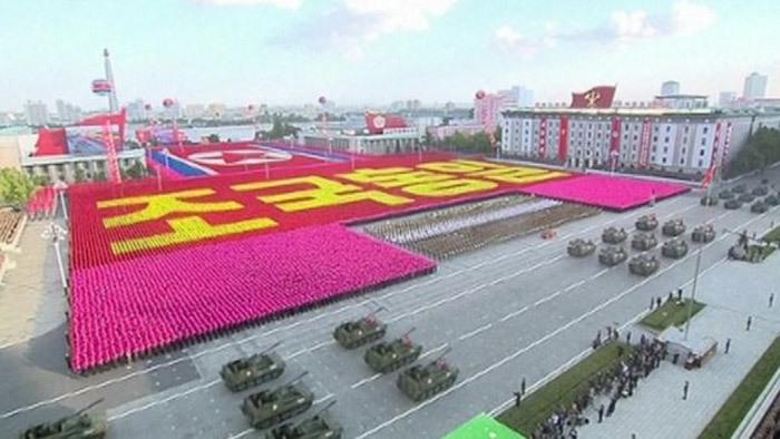 Thế giới, 24h, Triều Tiên, diễu binh