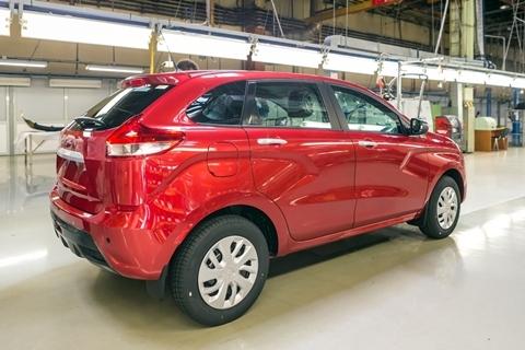 Ôtô Lada Nga đẹp như Mazda giá 200 triệu