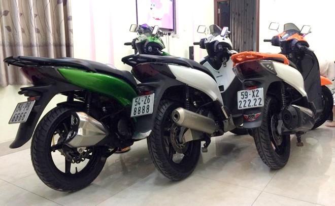 5 xe máy được yêu thích nhất ở Việt Nam