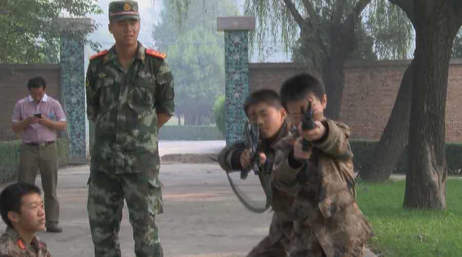 nghiện game, máy tính, huấn luyện, quân sự, Trung Quốc