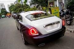 Siêu xe Rolls-Royce Wraith 21 tỷ xuất hiện ở Sài Gòn