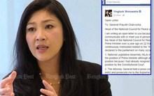 Cựu Thủ tướng Thái Yingluck bị tịch thu 16 triệu USD
