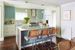 Những ý tưởng trang trí phòng bếp màu trắng cực đỉnh