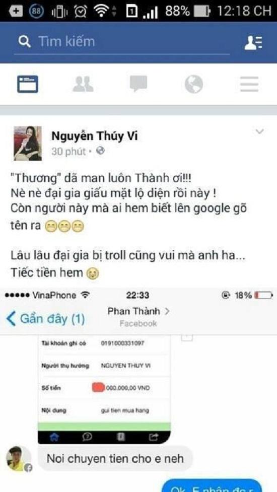 Thúy Vi, Phan Thành, Midu, ngoại tình, hotgirl, hôn nhân, scandal, vietnamnet