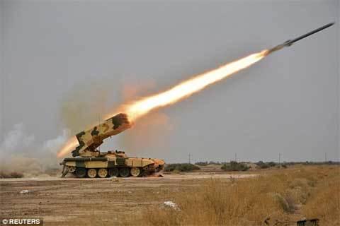 Nga đưa siêu vũ khí hủy diệt tới Syria