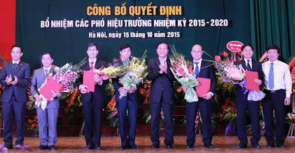 ĐH Bách khoa Hà Nội bổ nhiệm 5 hiệu phó