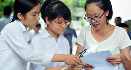 40.000 bài thi THPT quốc gia đạt điểm từ 1 trở xuống