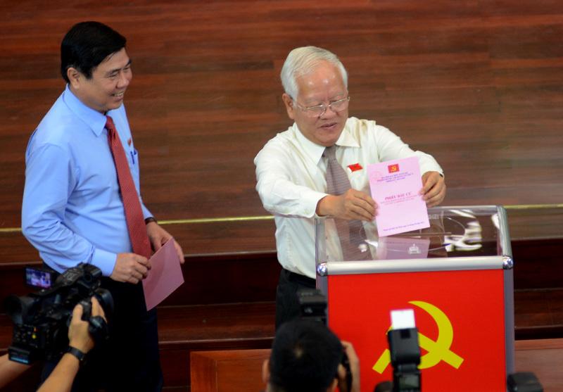Công bố kết quả bầu BCH Đảng bộ TP.HCM