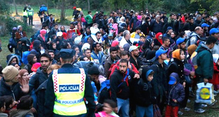 Hungary đóng cửa biên giới với Croatia