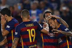 Neymar ghi poker, Barca thắng hủy diệt
