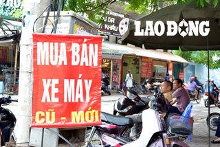 Luật ngầm ăn chia của dân buôn xe máy cũ
