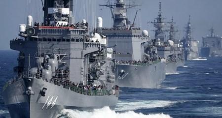 Thế giới 24h: Thủ tướng Nhật lên tàu chiến Mỹ