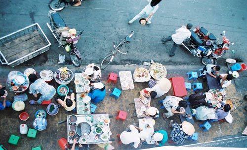 văn hóa, chung cư, hành lang, ăn uống, tiệc tùng, văn minh, người Việt