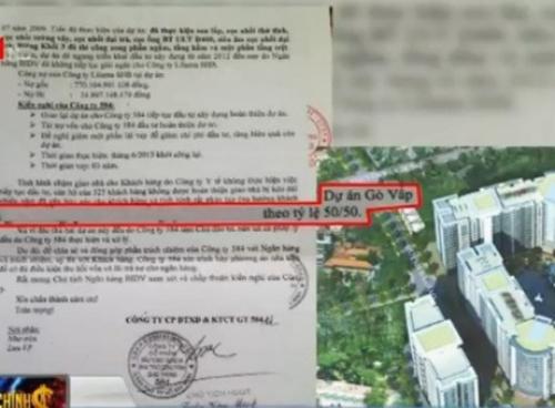 Người dân TP.HCM mất tiền tỷ vì 'căn hộ trên giấy'