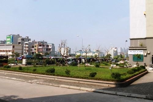 nhà thu nhập thấp, khu đô thị Kiến Hưng, chung cư cho người nghèo, chung cư giữa cánh đồng