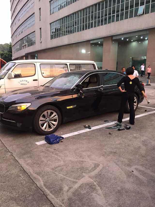 cặp bồ, BMW, Trung Quốc