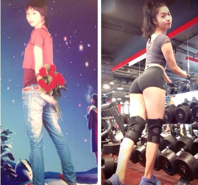 Cô gái tăng 10 kg vóc dáng vẫn sexy
