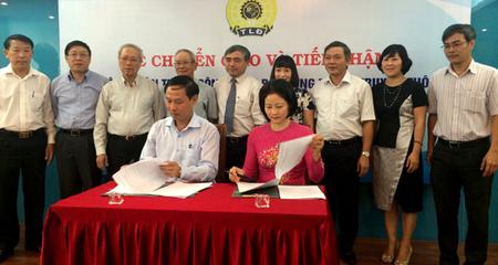 Chuyển giao Công đoàn Bộ TT&TT về Công đoàn TT&TT Việt Nam