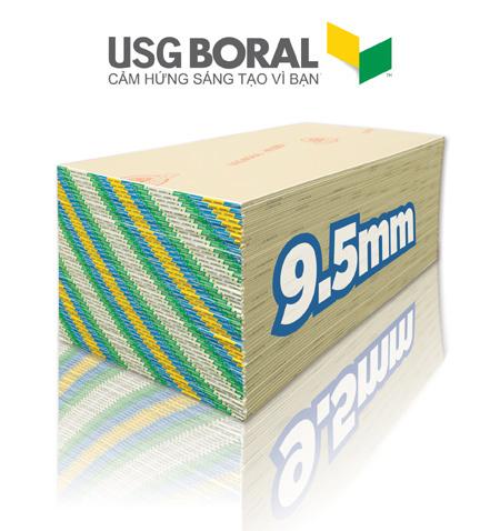 Tham vọng của USG Boral và tấm thạch cao cao cấp Sheetrock®