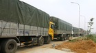 Nghi binh bắt gọn 10 xe quá tải lọt nhiều tỉnh