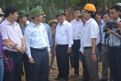 Bí thư Đà Nẵng Nguyễn Xuân Anh 'vi hành'
